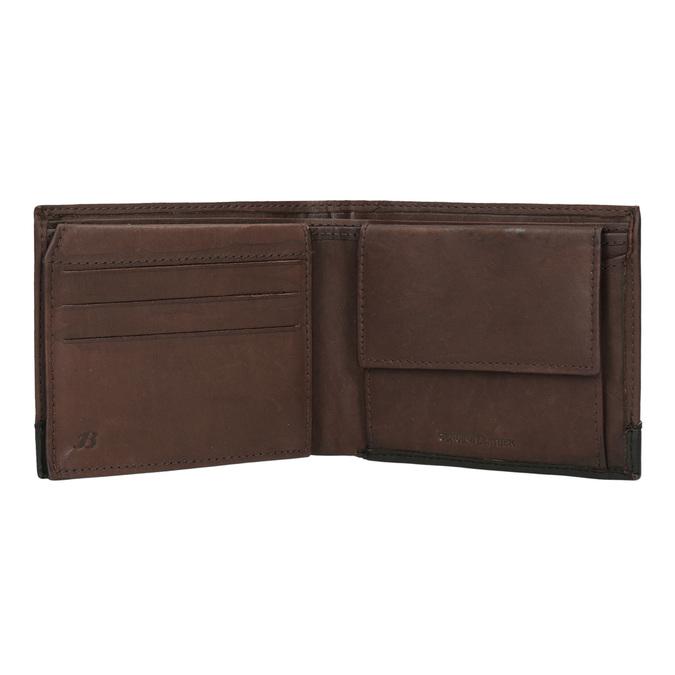 Męski skórzany portfel bata, brązowy, 944-8149 - 15