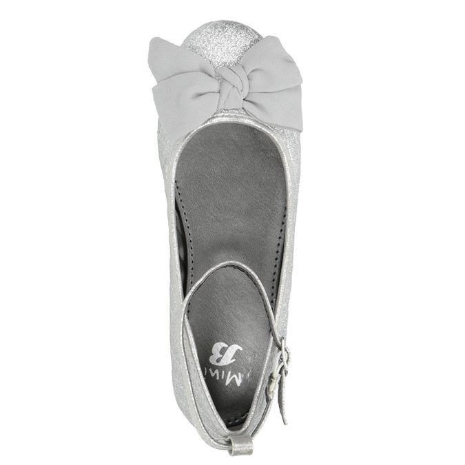 Srebrne baleriny dziewczęce mini-b, srebrny, 329-1286 - 15
