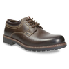 Skórzane półbuty męskie bata, brązowy, 826-4619 - 13