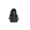Skórzane półbuty damskie zprzeszyciami bata, czarny, 524-6661 - 15