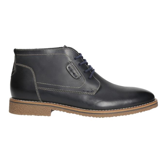 Obuwie męskie za kostkę, zprzeszyciami bata, czarny, 826-6614 - 15