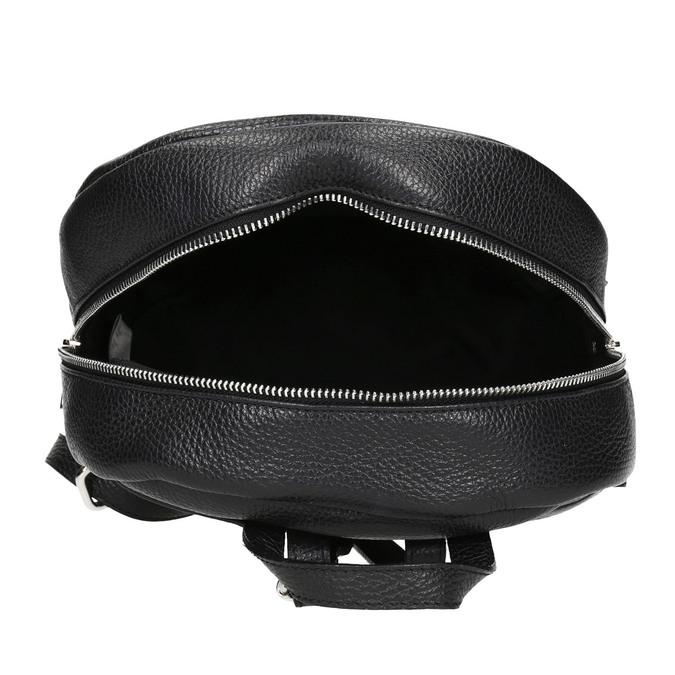 Czarny skórzany plecak bata, czarny, 964-6240 - 15