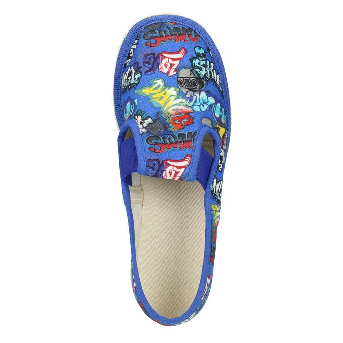 Niebieskie kapcie dziecięce bata, niebieski, 379-9124 - 15