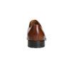 Brązowe skórzane półbuty typu angielki bata, brązowy, 826-3682 - 17