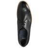 Skórzane półbuty na nieformalnej podeszwie bata, czarny, 824-6412 - 26