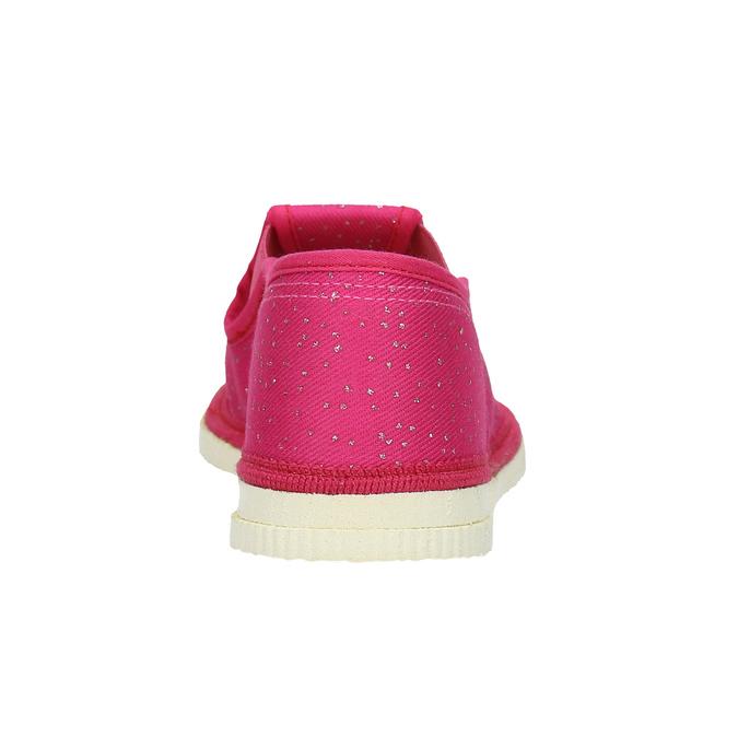 Różowe kapcie dziecięce bata, różowy, 279-5121 - 16