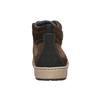 Trampki męskie za kostkę bata, brązowy, 846-4651 - 17