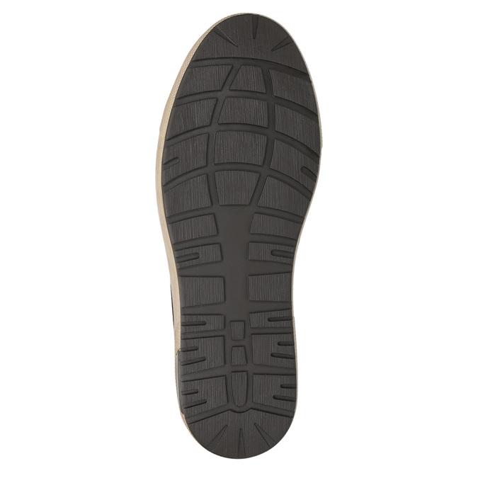 Trampki męskie za kostkę bata, brązowy, 846-4651 - 19
