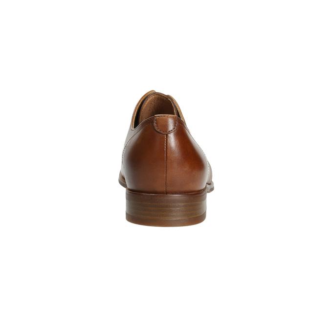 Skórzane półbuty wyjściowe bata, brązowy, 826-3680 - 17