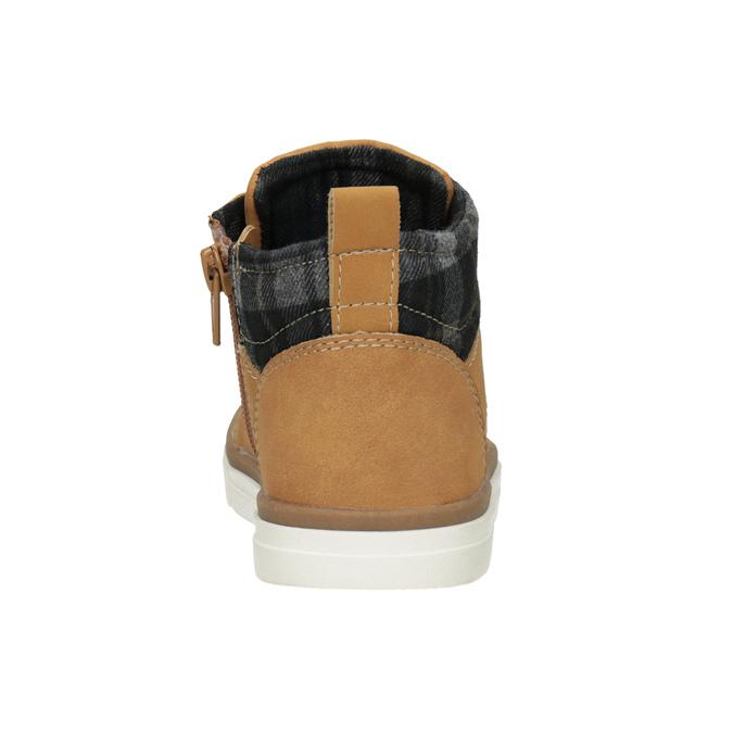 Dziecięce buty za kostkę mini-b, brązowy, 291-8172 - 16