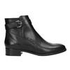 Buty ze skóry za kostkę ze zdobieniem clarks, czarny, 614-6027 - 26