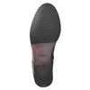 Buty ze skóry za kostkę ze zdobieniem clarks, czarny, 614-6027 - 17