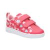 Dziewczęce trampki z nadrukiem adidas, różowy, 101-5533 - 13
