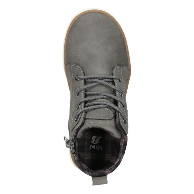 Dziecięce buty za kostkę mini-b, szary, 291-2172 - 15