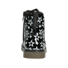 Sznurowane buty w gwiazdki mini-b, czarny, 291-6167 - 16