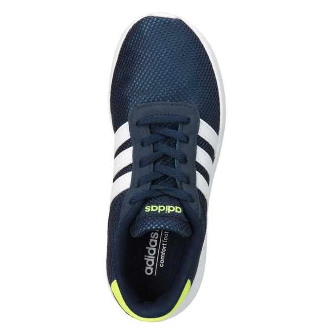 Niebieskie trampki dziecięce adidas, niebieski, 309-9288 - 15