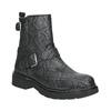 Buty skórzane za kostkę dla dzieci, czarny, 496-9015 - 13