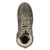 Dziecięce buty ze skóry za kostkę bullboxer, szary, 494-8023 - 15