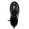 Sznurowane buty dziecięce mini-b, czarny, 391-6407 - 17