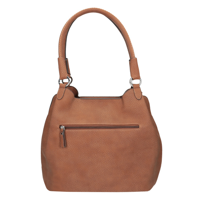 Brązowa torebka damska gabor-bags, brązowy, 961-3049 - 16