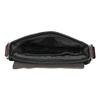 Skórzana torba męska typu crossbody bugatti-bags, czarny, 964-6027 - 15