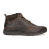 Skórzane obuwie męskie za kostkę, zprzeszyciami bata, brązowy, 846-4645 - 19
