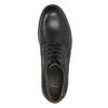 Skórzane półbuty męskie typu angielki bata, czarny, 824-6926 - 26