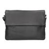 Czarna skórzana torba przewieszana przez ramię bugatti-bags, czarny, 964-6011 - 26