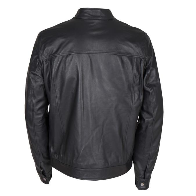 Skórzana kurtka męska bata, czarny, 974-6154 - 26