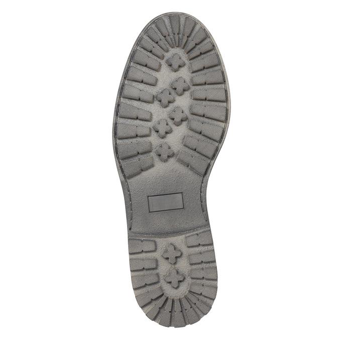 Skórzane półbuty męskie bata, czarny, 826-6619 - 26