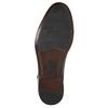 Granatowe skórzane półbuty męskie bata, niebieski, 826-9913 - 19