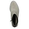Zamszowe botki bata, szary, 593-2603 - 26