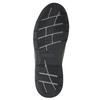 Skórzane trampki męskie bata, czarny, 824-6921 - 19