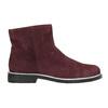 Zamszowe botki bata, czerwony, 593-5603 - 15