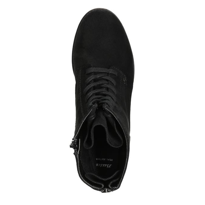 Botki damskie bata, czarny, 599-6617 - 26