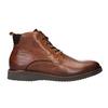 Buty ze skóry za kostkę bata, brązowy, 896-3675 - 26