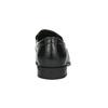 Skórzane loafersy męskie bata, czarny, 814-6623 - 17
