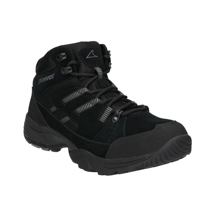Męskie buty za kostkę wstylu outdoor power, czarny, 803-6232 - 13