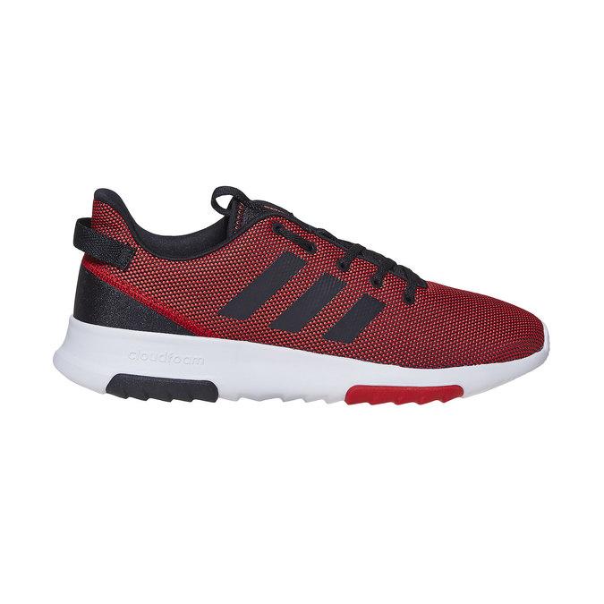 Czerwone trampki męskie adidas, czerwony, 809-5201 - 15