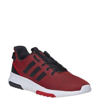 Czerwone trampki męskie adidas, czerwony, 809-5201 - 13