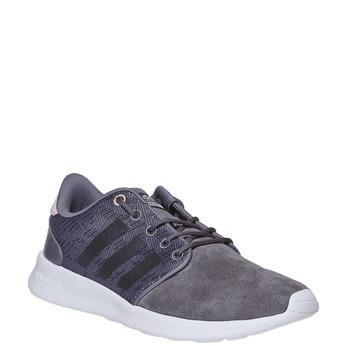Skórzane trampki damskie adidas, szary, 503-2111 - 13