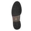 Nieformalne półbuty męskie bata, brązowy, 826-4916 - 19