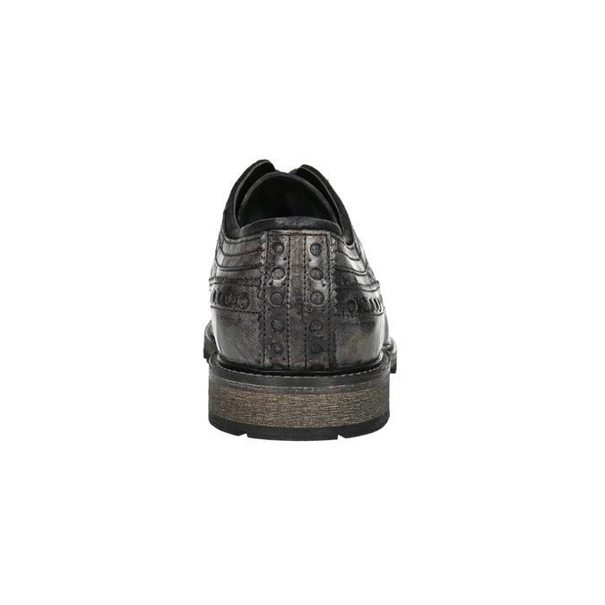 Nieformalne półbuty męskie bata, brązowy, 826-4916 - 17