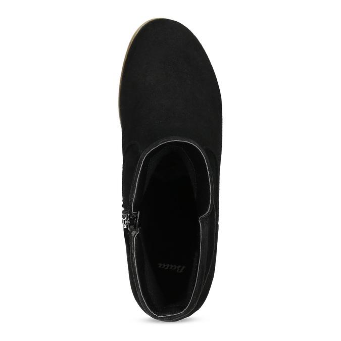 Botki damskie bata, czarny, 599-6614 - 17