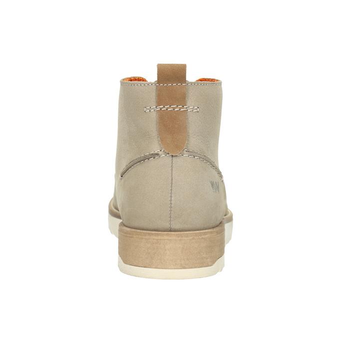 Męskie buty za kostkę weinbrenner, beżowy, 846-8701 - 17
