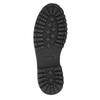 Buty męskie za kostkę bata, czarny, 896-6664 - 19