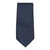 Komplet krawatu iposzetki wdeseń bata, niebieski, 999-9296 - 26