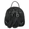 Skórzany plecak damski fredsbruder, czarny, 966-6054 - 16
