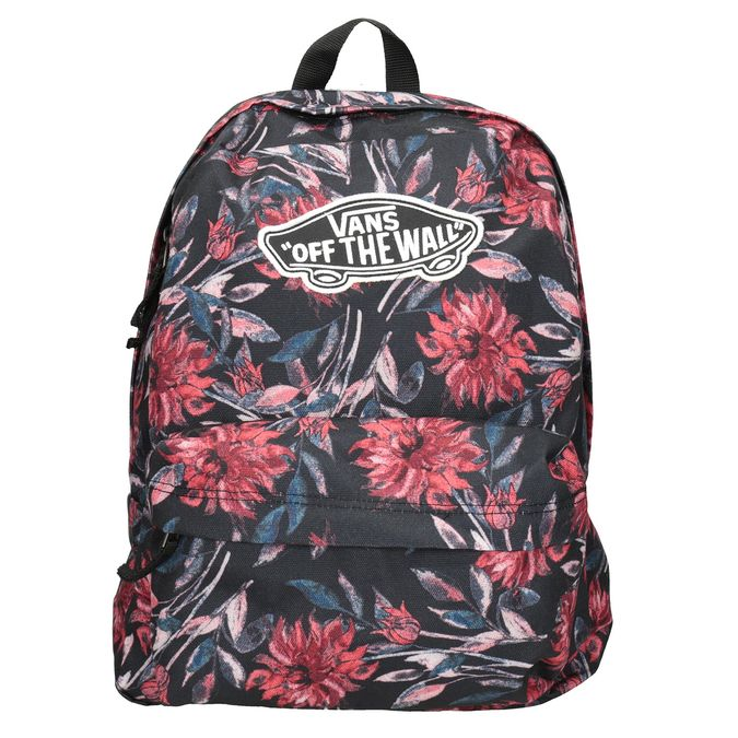 Plecak wkwiaty vans, czarny, 969-6082 - 26