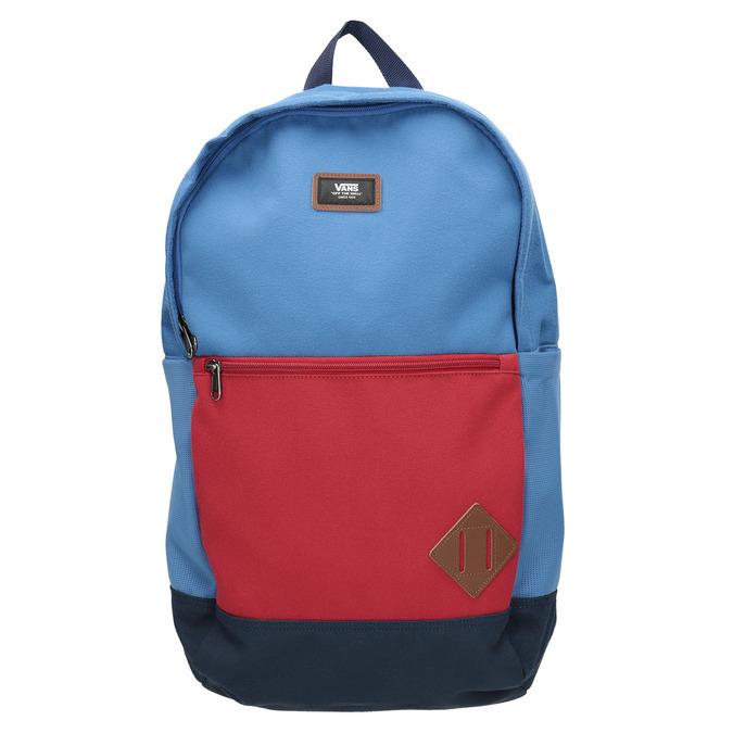 Niebieski plecak zczerwoną kieszenią vans, niebieski, 969-9095 - 26